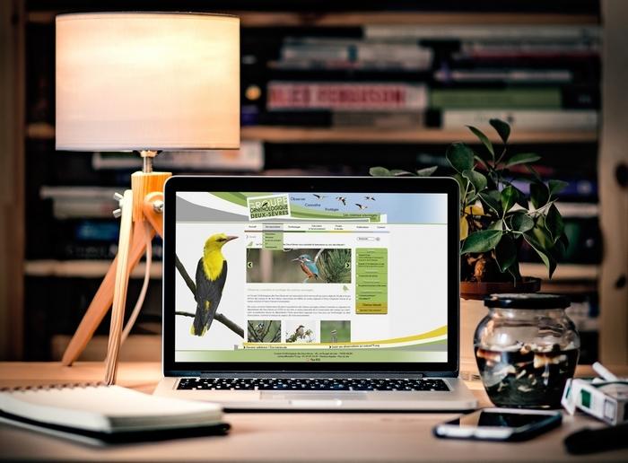 Site internet Joomla Groupe ornithologique des deux-sevres